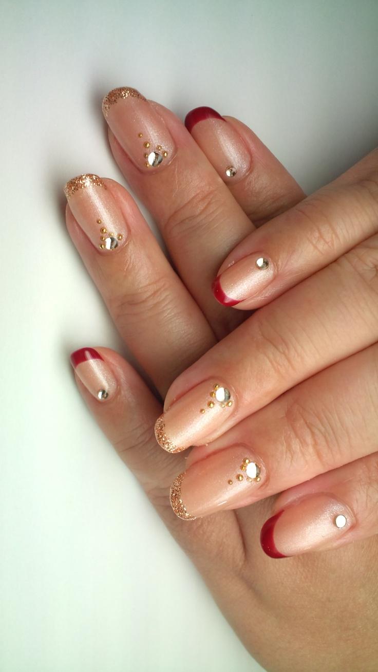 Ein Hauch von Herbst auf orientalischem Design.   – Nails
