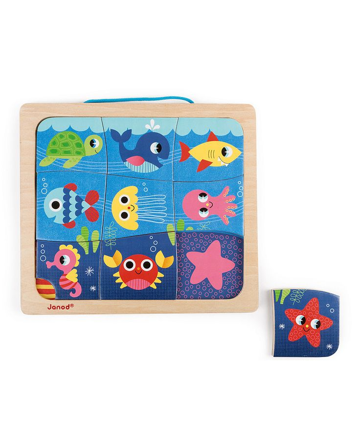 Another great find on #zulily! Janod Happy Fish Magnetic Puzzle by Janod #zulilyfinds
