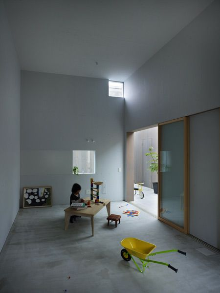 Here's another project fromJapanese studio Suppose Design Office, this timea house in Buzen, Japan, where separate structures are connected under a glass canopy. Update: this project is included in Dezeen Book of Ideas, which is on sale now for £12. Called House in Buzen, the wood-clad residence features courtyards and corridors where children can play More