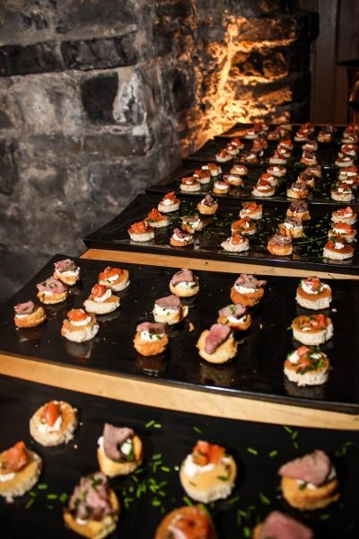 Promotional Events Ideas -  An delicious menu with starters an main courses prepared with Jägermeister.