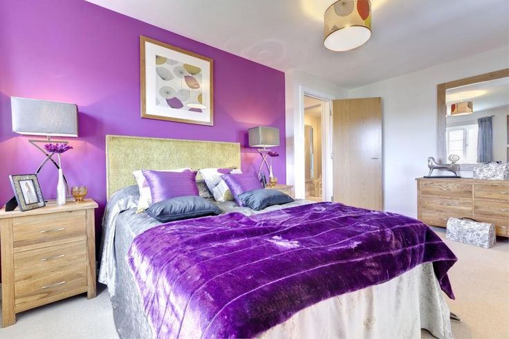 Image result for lilac feature wall