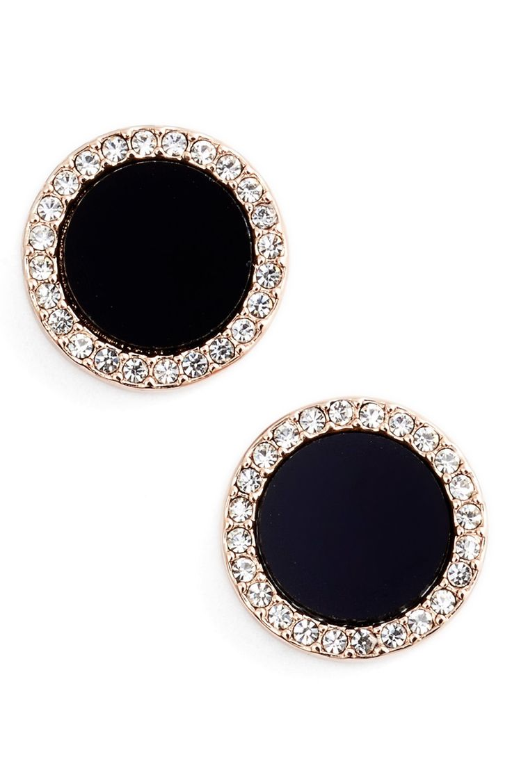 by designs albert earrings gold knob