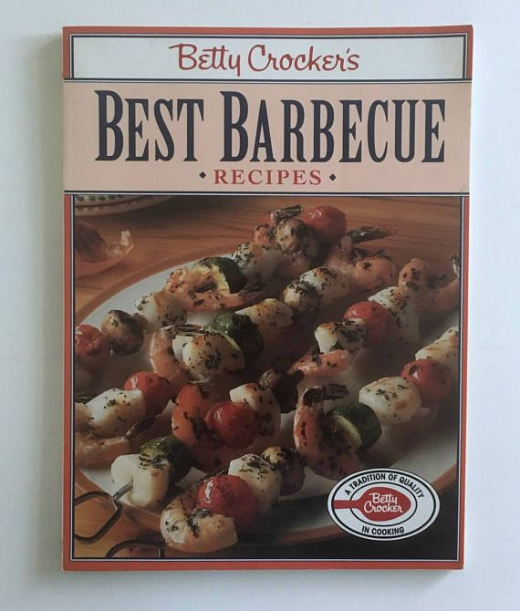 Betty Crocker Cookbook Best Barbecue Recipes Vintage