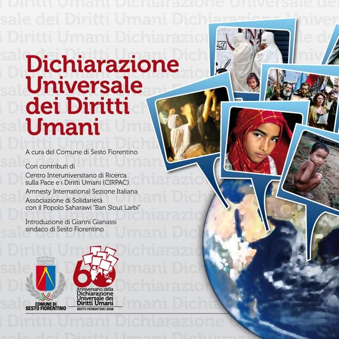 Il 60° anniversario della Dichiarazione Universale dei Diritti Umani celebrata dal Comune di Sesto Fiorentino.