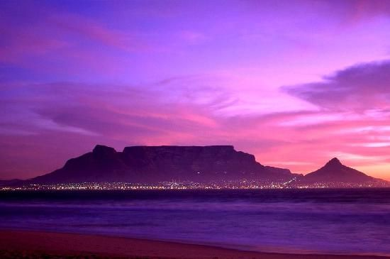 Cape Town, South Africa: There is much to do and see in the city of Cape Town, with its gorgeous beaches, scenic natural settings, impressive architecture, and booming nightlife. Outdoor enthusiasts can hike up the rugged trails of Table Mountain. For the less adventurous, there is the Table Mountain Cableway.   #Travel #CapeTown