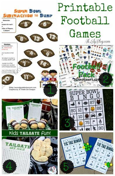 AliLily | 42 Fantastic Football Party Ideas