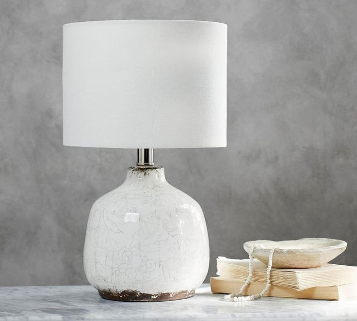 Jamie Young Bethany Ceramic Table Lamp In 2020 Ceramic