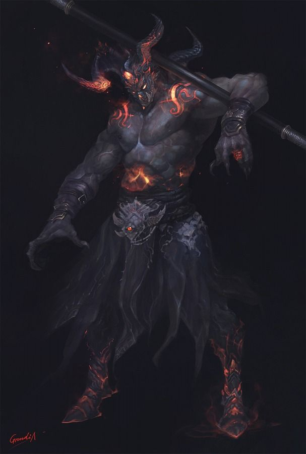 "Belial (Lord of the Fourth, Lord of Pain and Sufferings, Arch-Devil of Hell) (Hell) (Demon) Demon. High-Level Intelligence. Immortality. Divine Powers. Super strength, speed. Fire Control. Force Field. Blast Power. Immense magical powers. 7' 3"" tall."