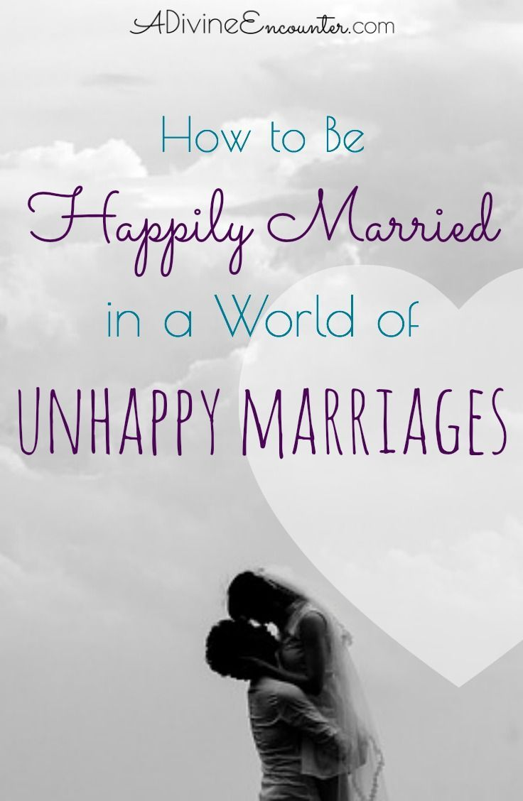 how to get out of an unhappy marriage