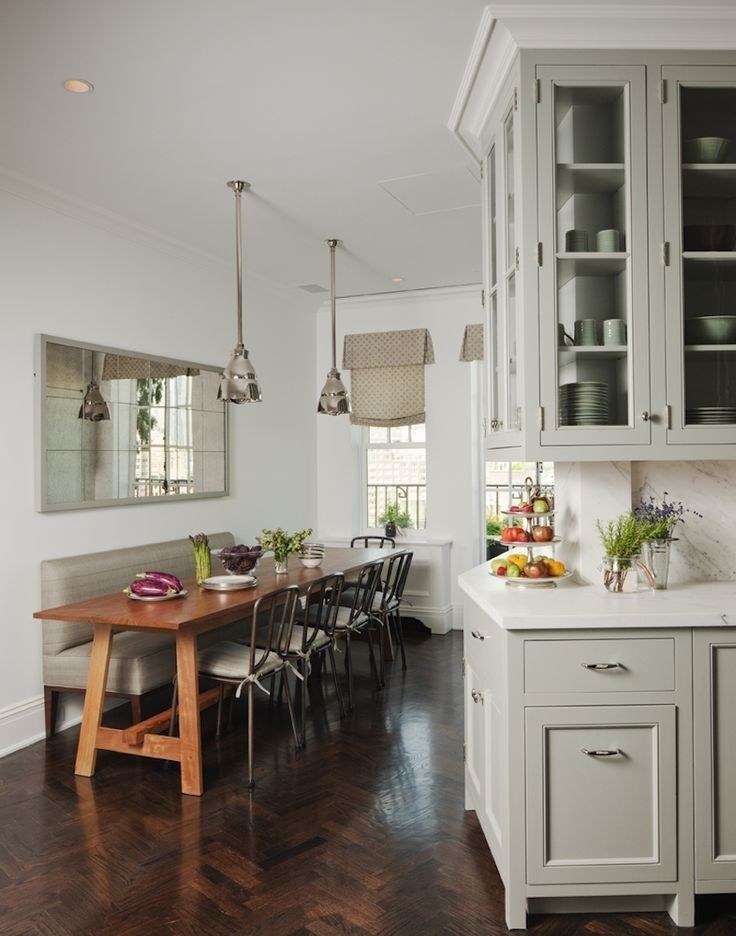 Small Eat In Kitchen Ideas Pinterest Image Result For Small Eat In Kitchen Wall Bench With Back Small Dining Room Table Narrow Dining Tables Dining Room Small