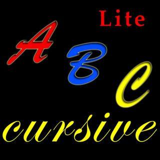 Cursive writing app
