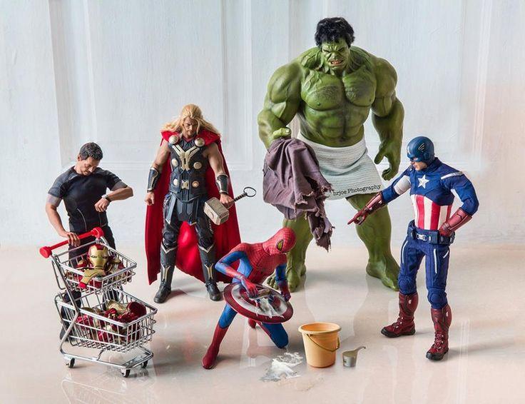 Spiderman-wash