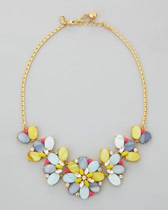 kate spade new york bungalow bouquet short necklace