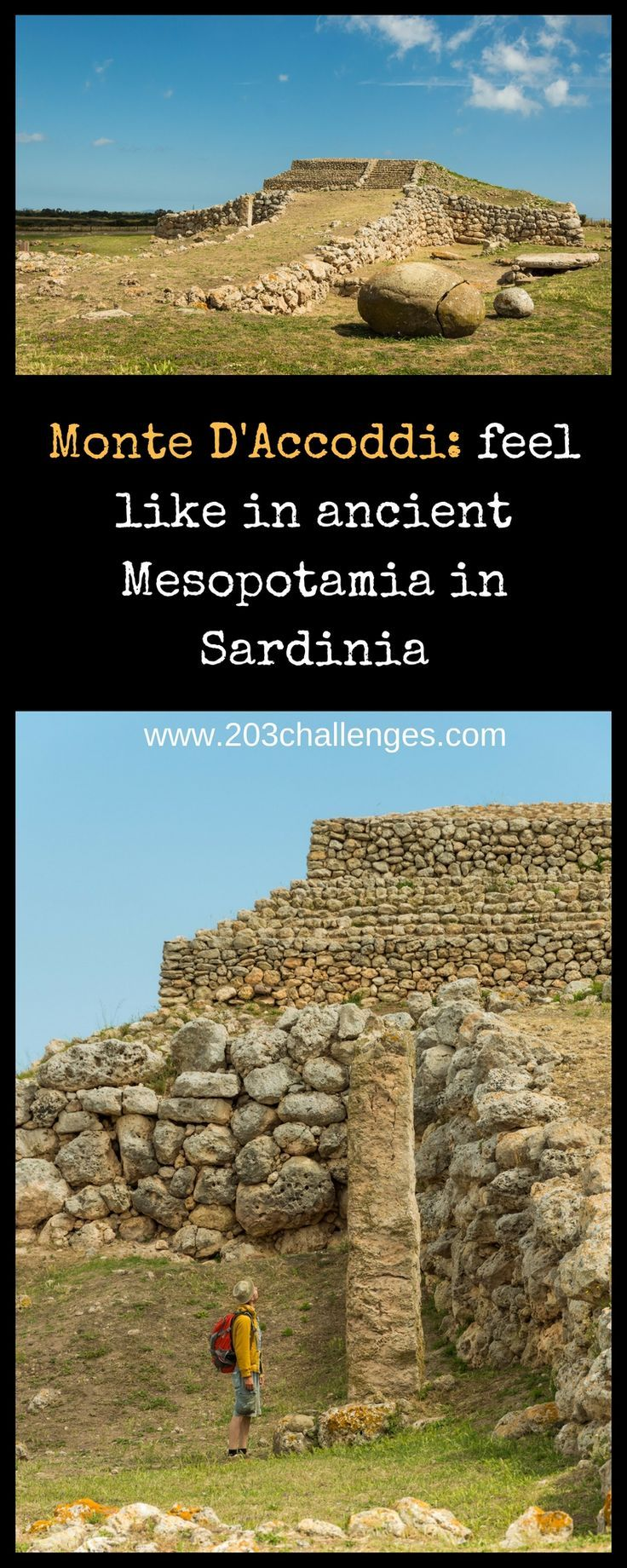 Monte D'Accoddi: Where in Italy you'll feel like you're in Mesopotamia | 203Challenges