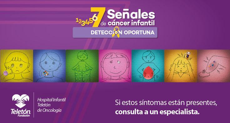 Señales del cáncer infantil