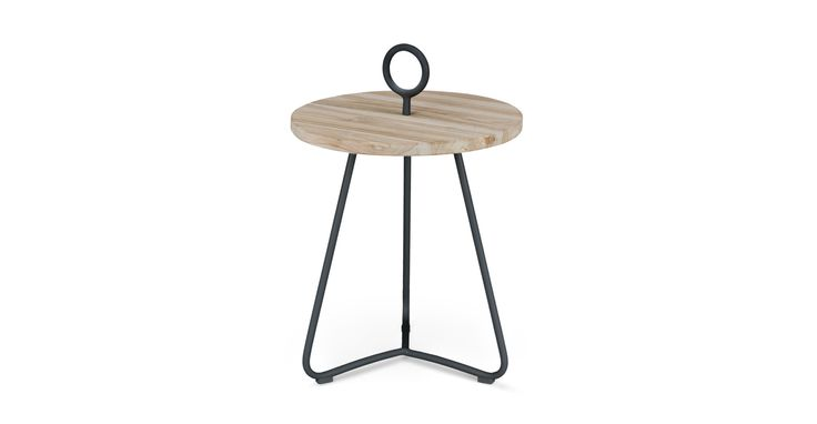 Po Graphite Side Table - Coffee Tables - Article | Modern, Mid-Century and Scandinavian Furniture