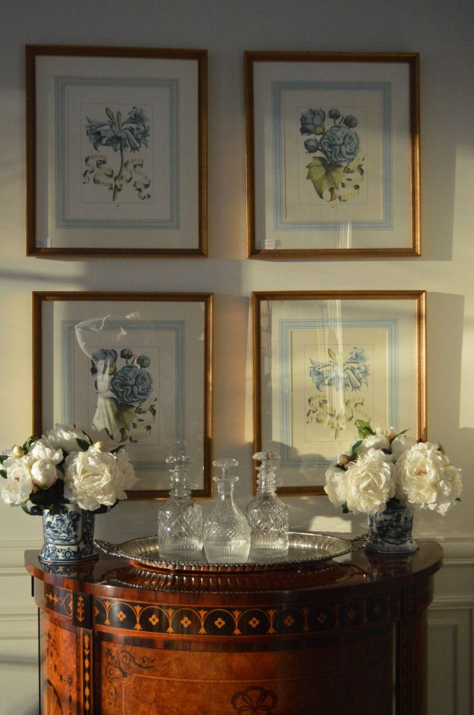 beautiful vignette, The Enchanted Home