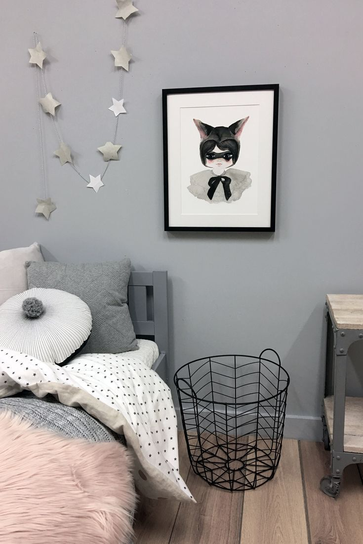 The Miss Possum Print From Violet Eyes This Kids Wall Art Print