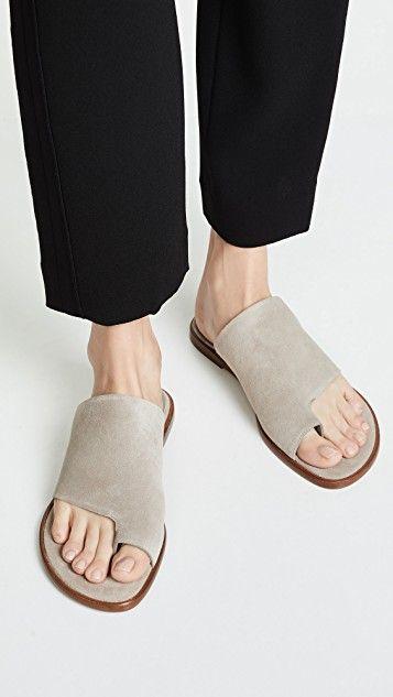 832daa095ef5 Edris Toe Ring Slide Sandals in 2019