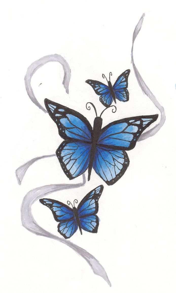 Butterfly and stars tattoo design tattoos pinterest low back