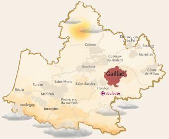 AOP Gaillac   Vins du Sud-Ouest - le vignoble de Gaillac près de Brin de Cocagne - chambre d'hôtes écologique de charme dans le Tarn près d'Albi - Brin de Cocagne
