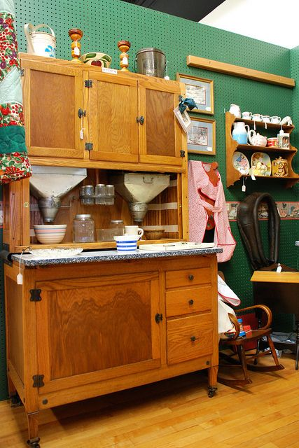 Find This Pin And More On Antique Hoosier Cabinets And Container S