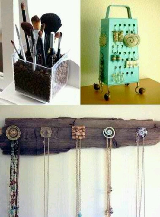 Jewlery Holders love this idea but maybe to hold keys!