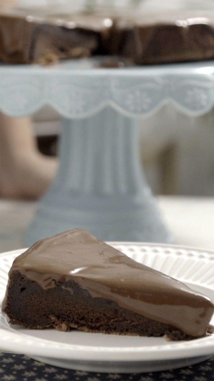 Nada melhor que um bolo de chocolate.