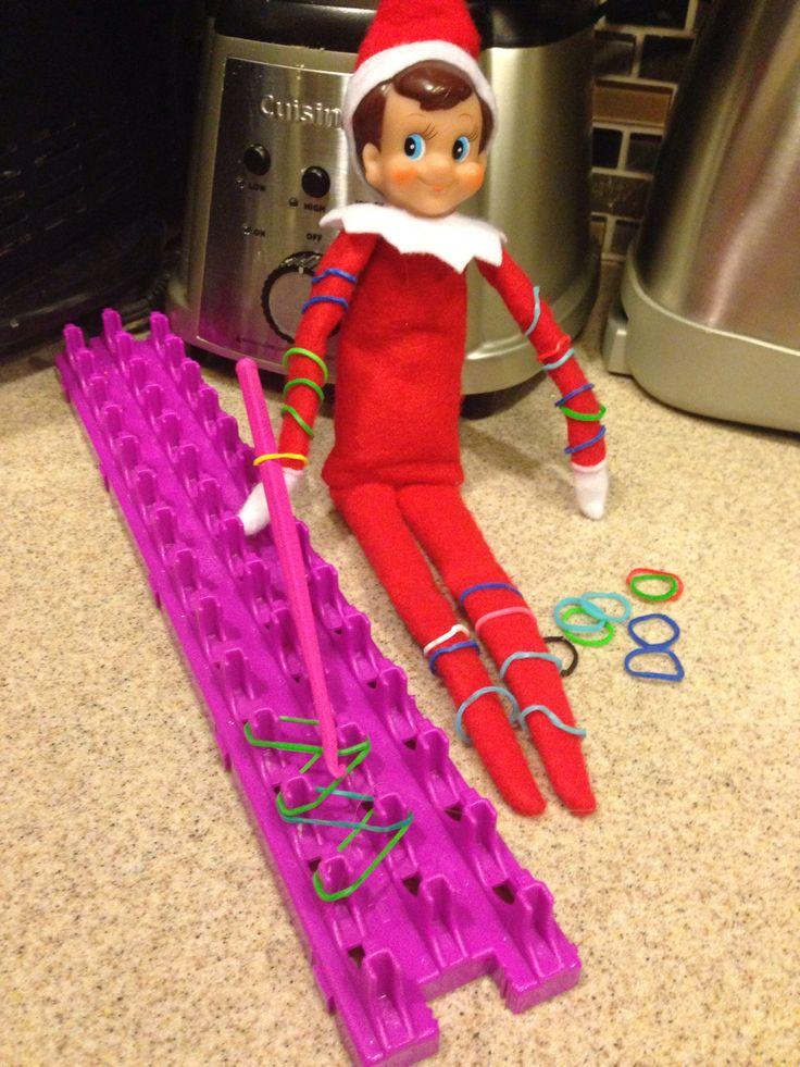 Elf On A Shelf Crazy Loom Elf On A Shelf Pinterest