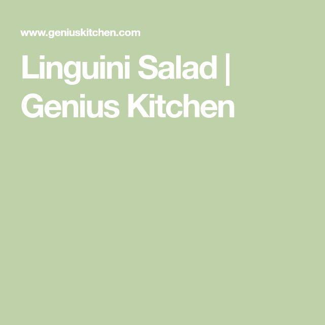 Linguini Salad   Genius Kitchen