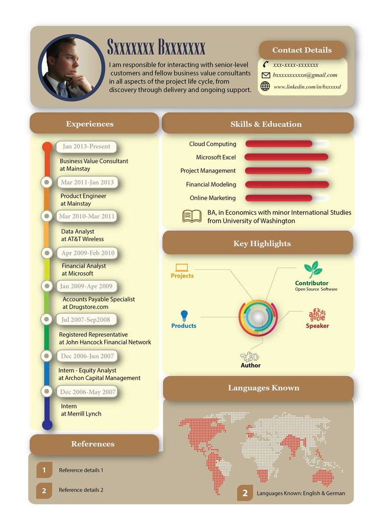 Infographic Resume For It Google Search Infographic Resume Visual Resume Infographic