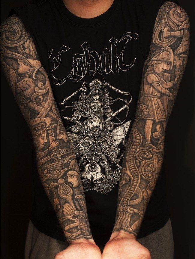 Best Sleeve Tattoo Designs Ever