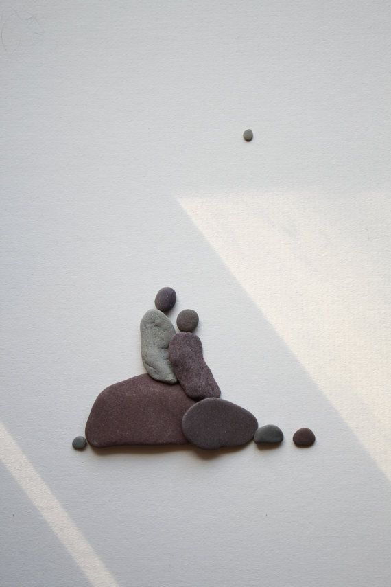 Pebble Art of Nova Scotia by Sharon Nowlan by PebbleArt on Etsy, $120.00
