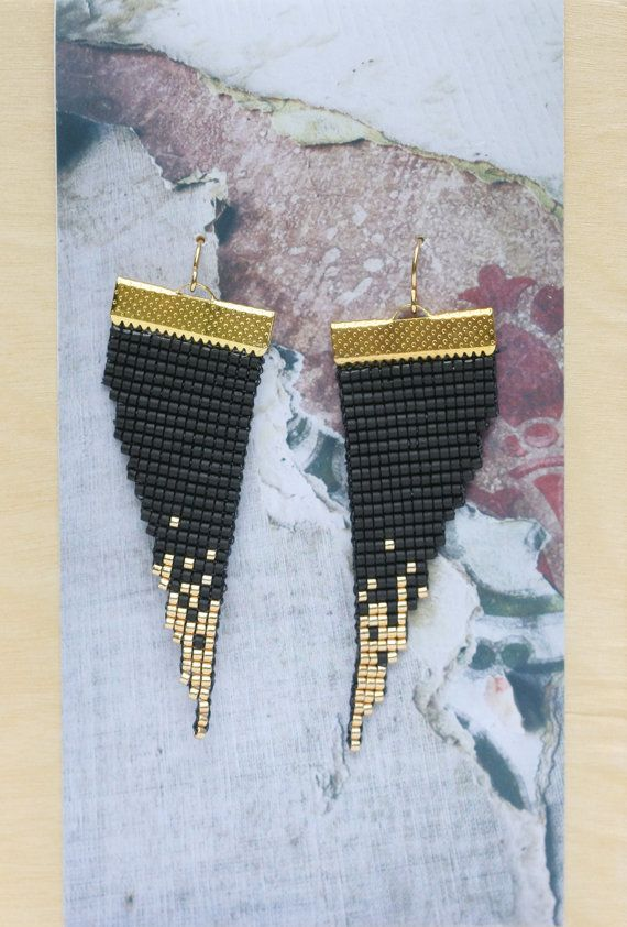 Lovejoy / / métier à tisser perles Boucles par PigmentProject