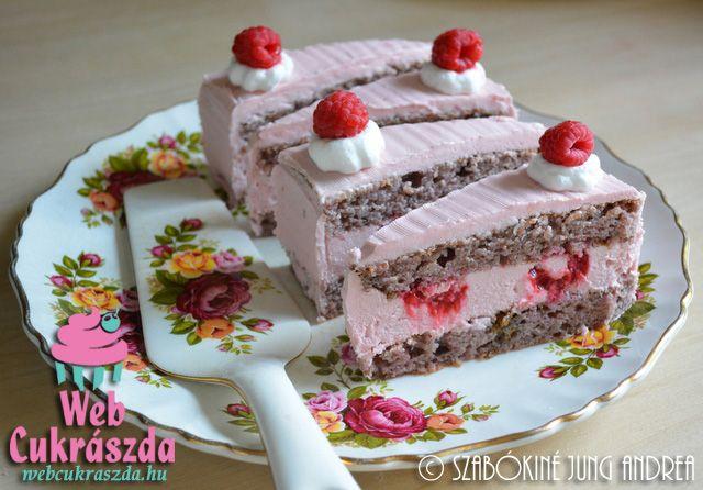 Málnaimádók süteménye