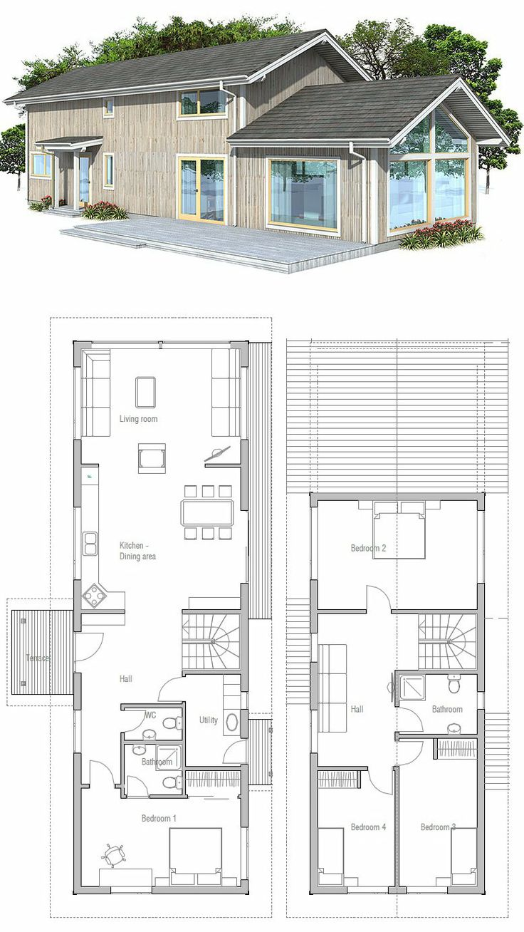 262 best images about sims for Narrow apartment plans