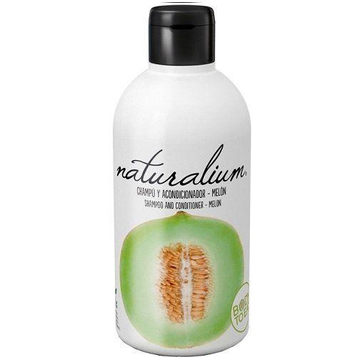 Naturalium Plaukų šampūnas ir kondicionierius, melionų kvapas 400 ml