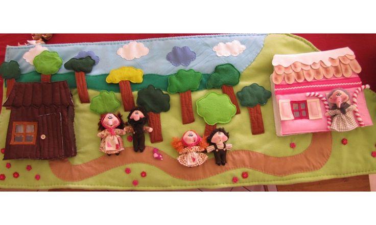 Hansel et Gretel www.contesetcomptinesentissus.kingeshop.com