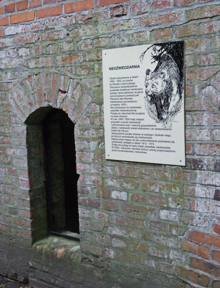 """Gołuchów Park - Arboretum  """"Niedźwiedziarnia"""""""