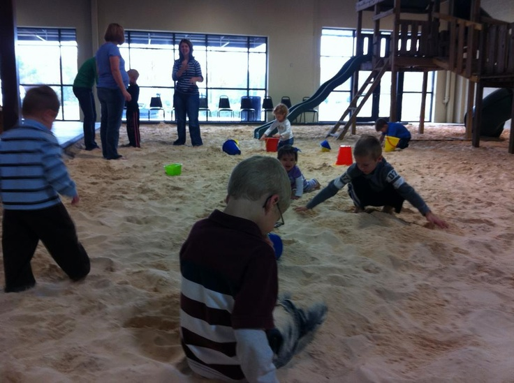 indoor sand pit playground