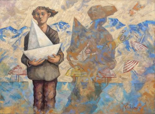 Giampaolo Talani - The sea on the wall