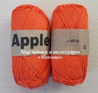 Хлопковая пряжа Apple, оранж