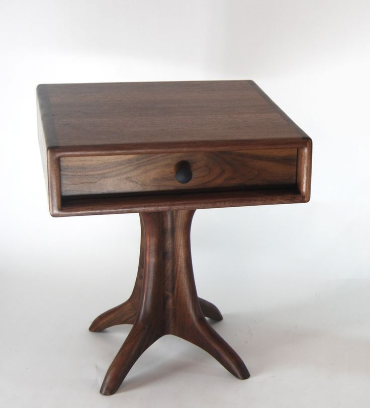 Furniture For Sale   Sculpted Side Table   Drawer By Paul Lemiski At  ArtsyHome