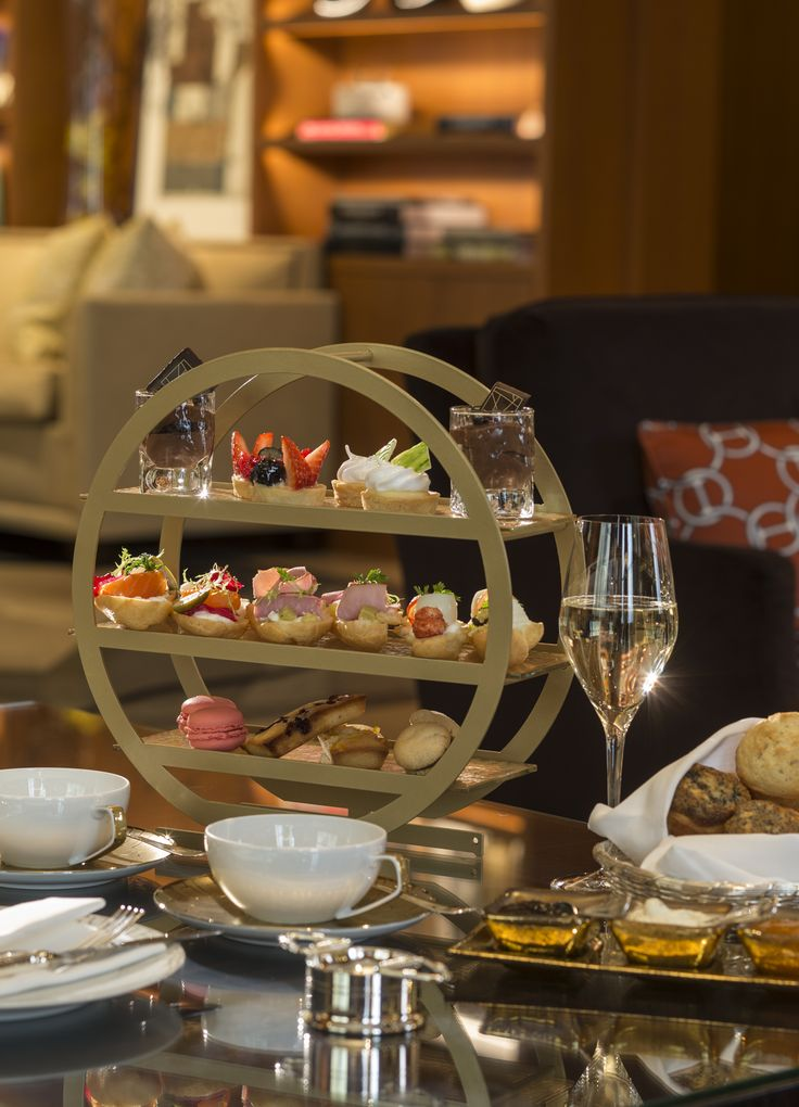 Afternoon Tea at The Gallery Lounge at Four Seasons Hotel Prague