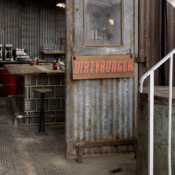 Grimy fast food joint has shed-loads of style... http://www.we-heart.com/2012/12/17/dirty-burger-london/