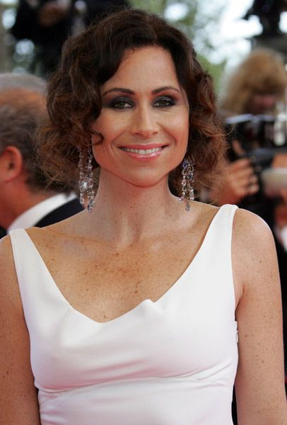 Minnie Driver's freckles