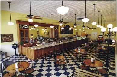Beth Maries Old-Fashioned Ice Cream  Denton, TX  You have to try the Choc Bacon Ice Cream