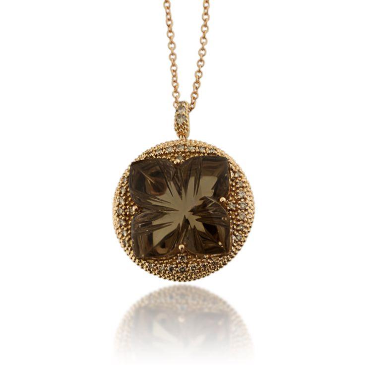 GALLERY DIAMOND Lilies 2014 SmokeQuartz  & Brown Diamonds