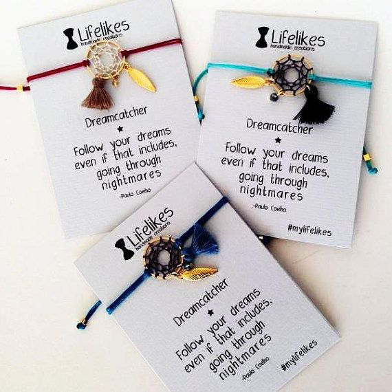 Dreamcatcher bracelet by Lifelikes on Etsy