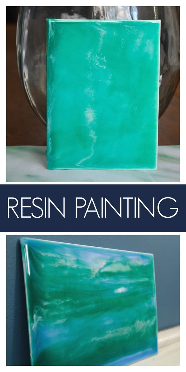 Easy Art - DIY Resin and Acrylic Painting